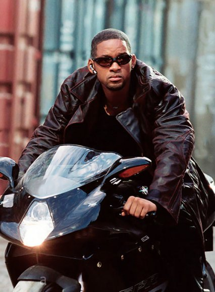 Will Smith I Robot Leather Trench Coat
