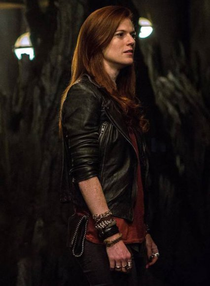 Rose Leslie The Last Witch Hunter Leather Jacket