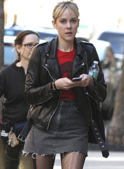 Jena Malone Time Out of Mind Leather Jacket