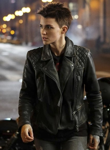 Ruby Rose Batwoman Leather Jacket