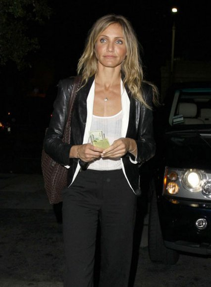 Cameron Diaz Leather Jacket