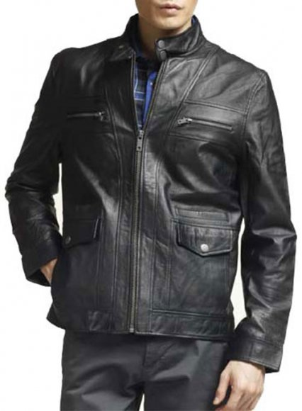 Leather Jacket #835