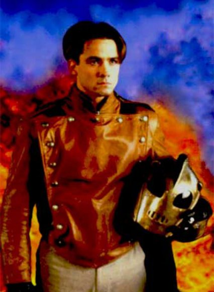 Bill Clifford The Rocketeer Leather Jacket