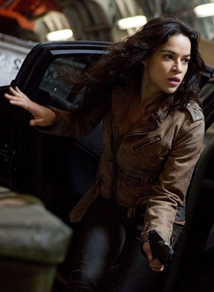 Michelle Rodriguez Furious 7 Leather Jacket