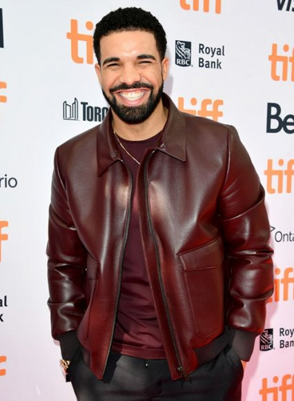 Drake Graham Toronto Film Festival Leather Jacket