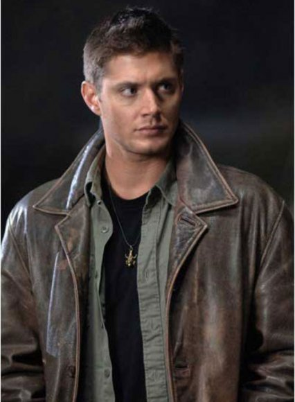 Supernatural Dean Winchester Leather Trench Coat