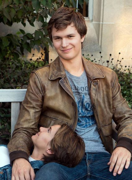 Ansel Elgort The Fault In Our Stars Leather Jacket