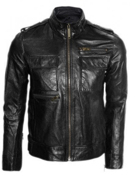 Leather Jacket #96