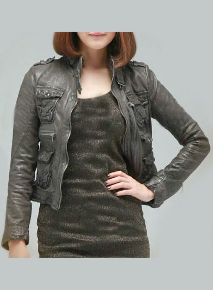 Leather Jacket # 235