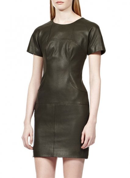 Stylish Leather Dress - # 751