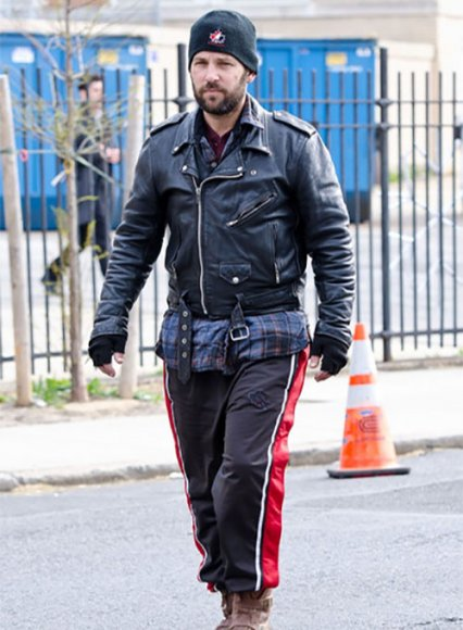 Paul Rudd All Is Bright Leather Jacket