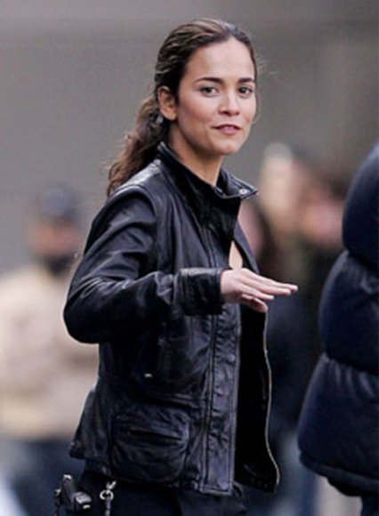 Alice Braga I Am Legend Leather Jacket
