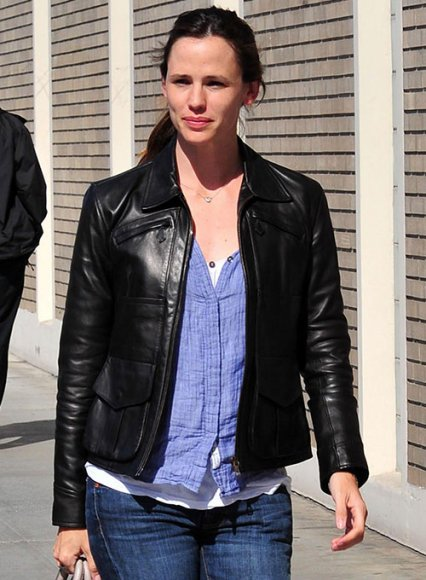 Jennifer Garner Leather Jacket