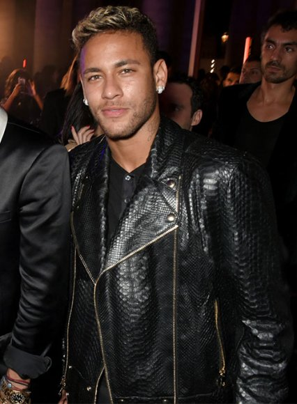 Neymar Leather Jacket