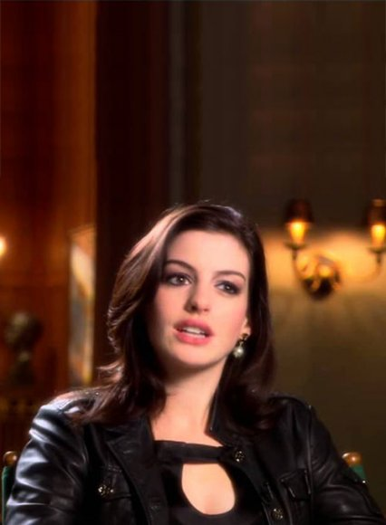 Anne Hathaway Get Smart Leather Jacket