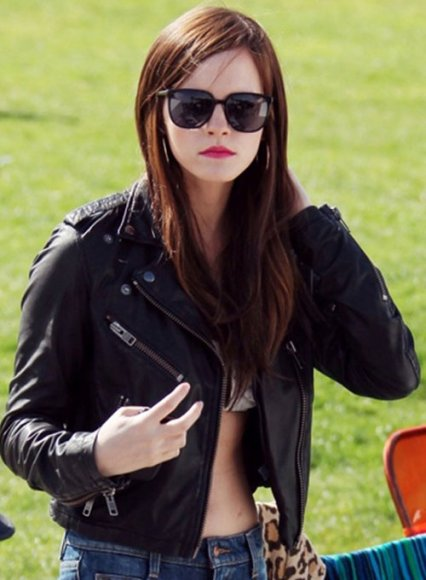 Emma Watson The Bling Ring Leather Jacket