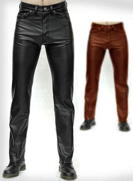 Leather Pants - Jeans Style