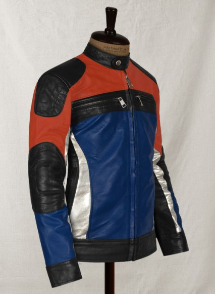 MotoGp Style Leather Jacket