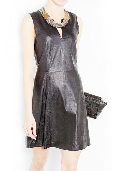 Valentine Leather Dress - # 761