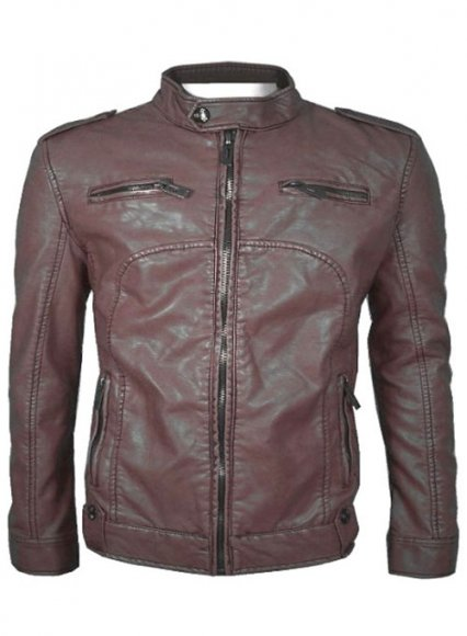 Leather Jacket #902