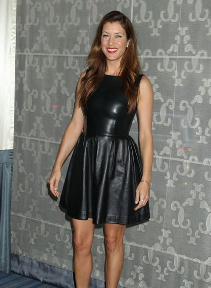 Kate Walsh Leather Dress