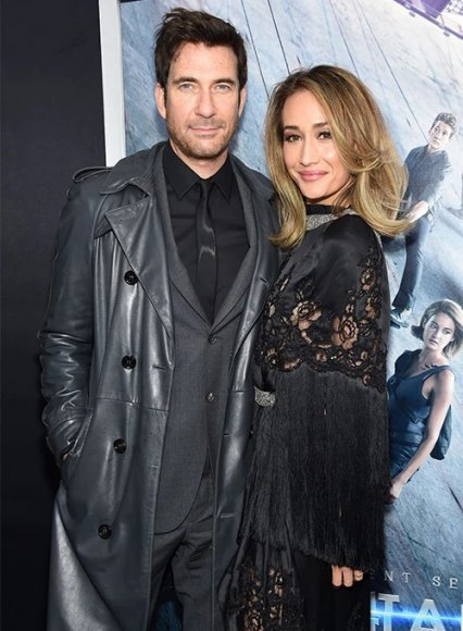 Dylan McDermott Trench Coat