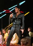Elvis Presley Leather Suit