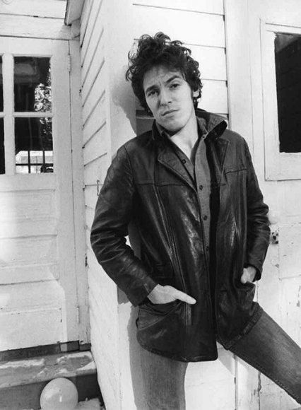 Bruce Springsteen Born to Run Autobiography Leather Trench Coat
