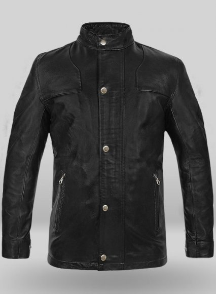 Leather Jacket #836