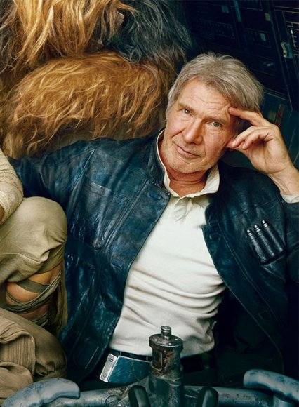 Harrison Ford Star Wars: The Force Awakens Leather Jacket