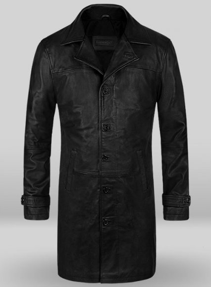 Thick Goat Black Jason Statham The Fate Of The Furious Coat