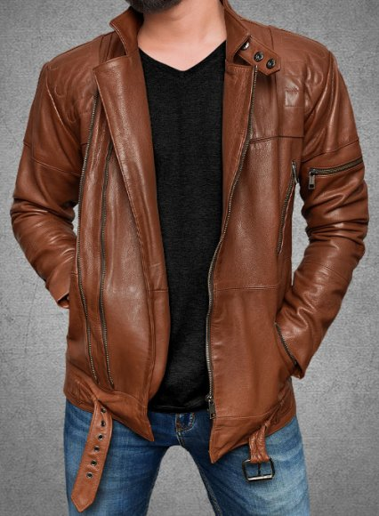 Cruiser Biker Leather Jacket