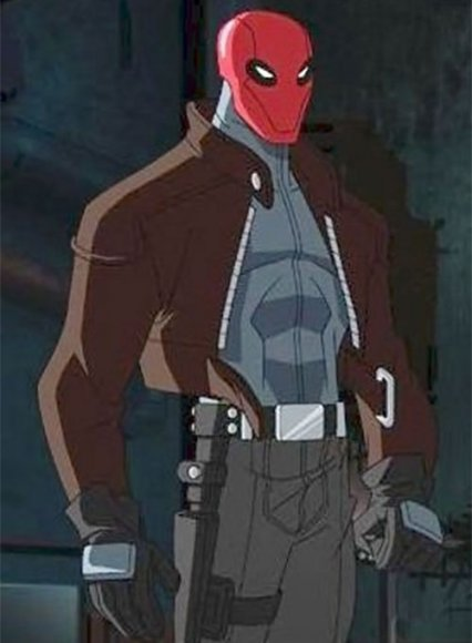 Red Hood Jason Todd Leather Jacket