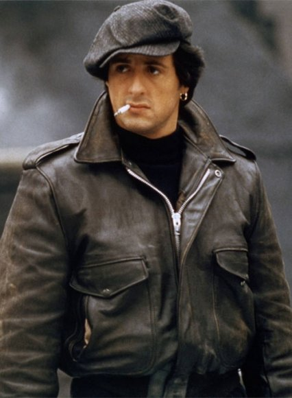 Sylvester Stallone Paradise Alley Leather Jacket
