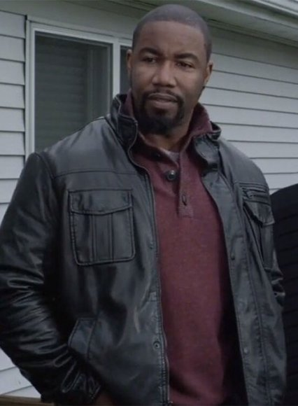 Michael Jai White Chain of Command Leather Jacket
