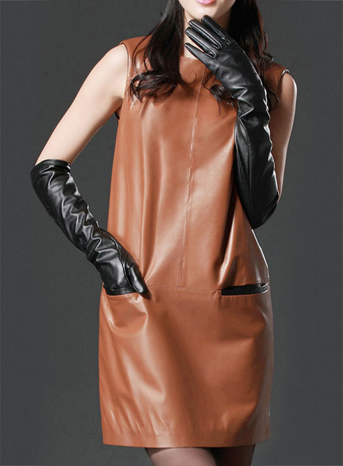 Bonfire Leather Dress - # 752