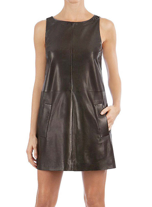 Circle Leather Dress 755 Leathercult Com Leather