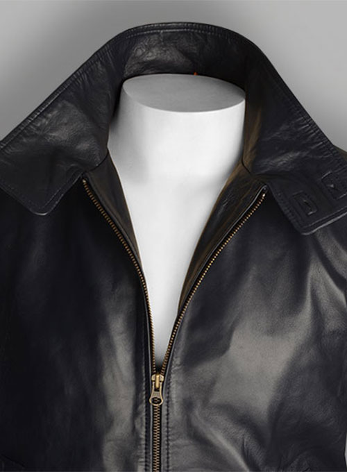 Dk Blue X-Men Magneto Leather Jacket