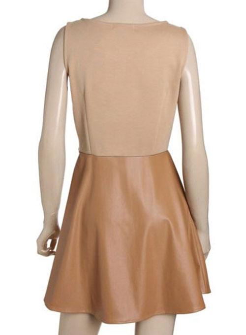 Flippy Leather Dress - # 774