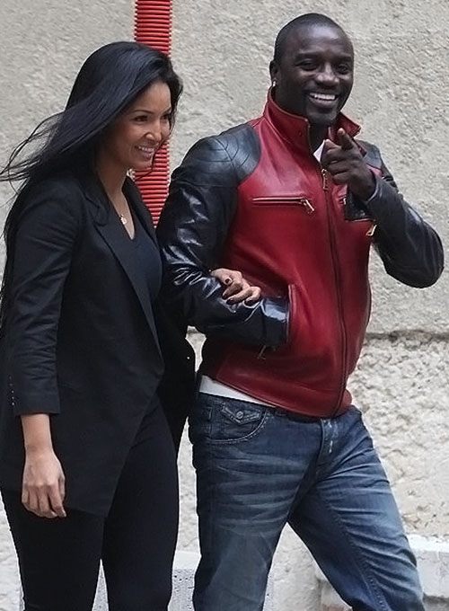 Akon Leather Jacket - Click Image to Close
