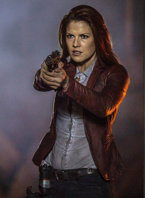 Ali Larter Resident Evil:The Final Chapter Leather Blazer - Click Image to Close