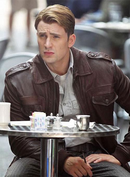 The Avengers Steve Rogers Chris Evans Jacket