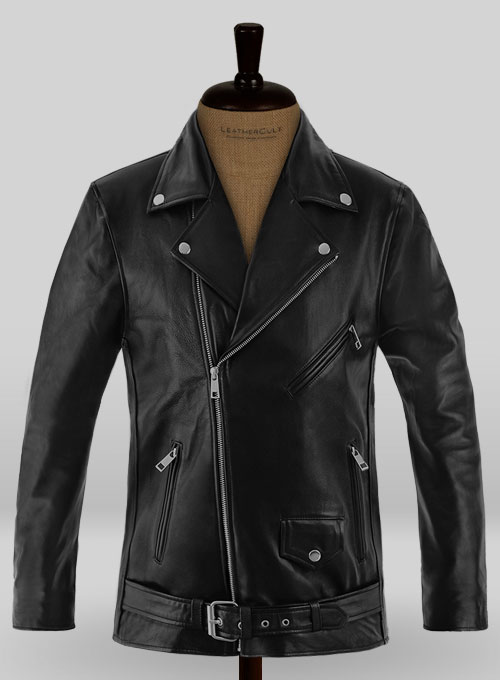 Leather Biker Jacket #1