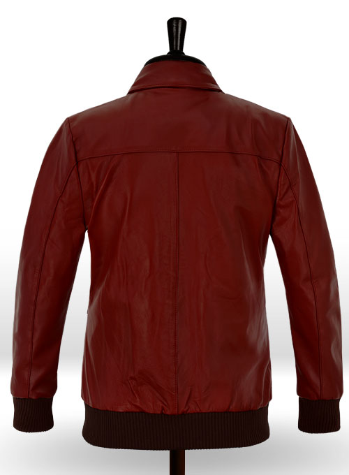 Cherry Red Drake Graham Toronto Film Festival Leather Jacket - Click Image to Close