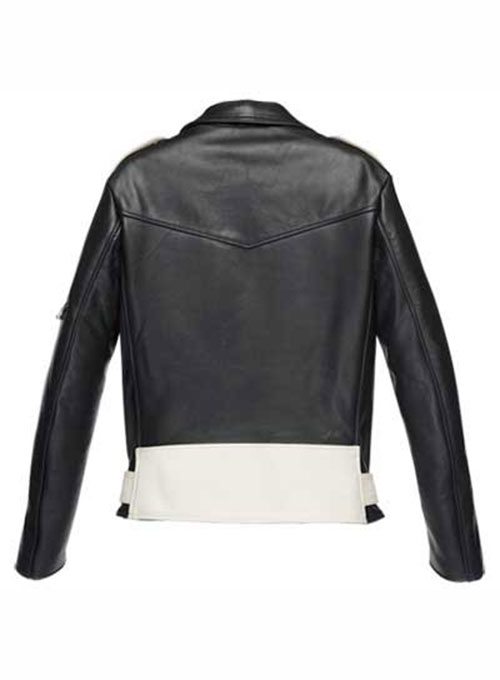 Combo Leather Jacket - # 136