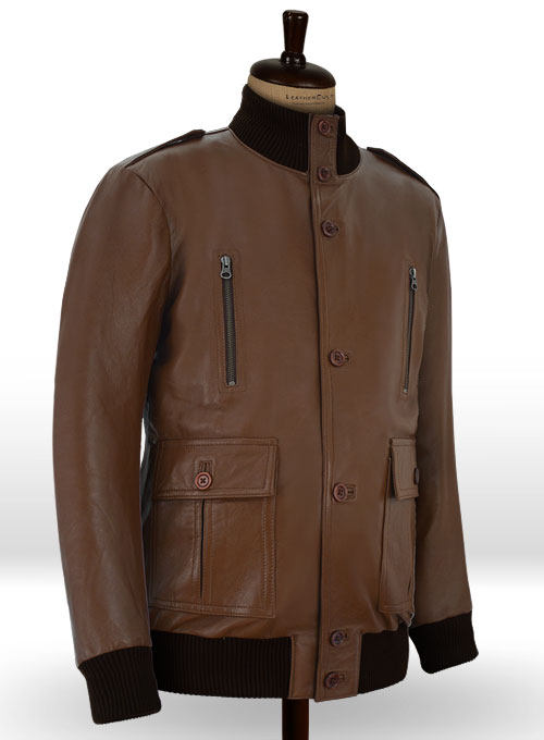 Cristiano Ronaldo Leather Jacket #2 - Click Image to Close