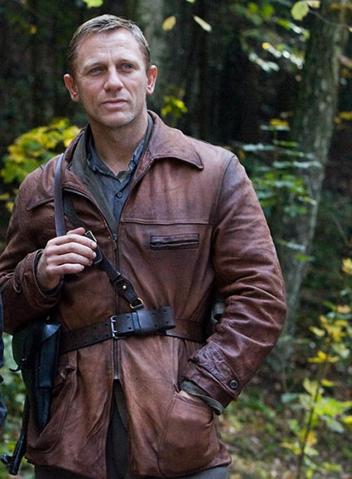 Daniel Craig Defiance Leather Jacket - Click Image to Close