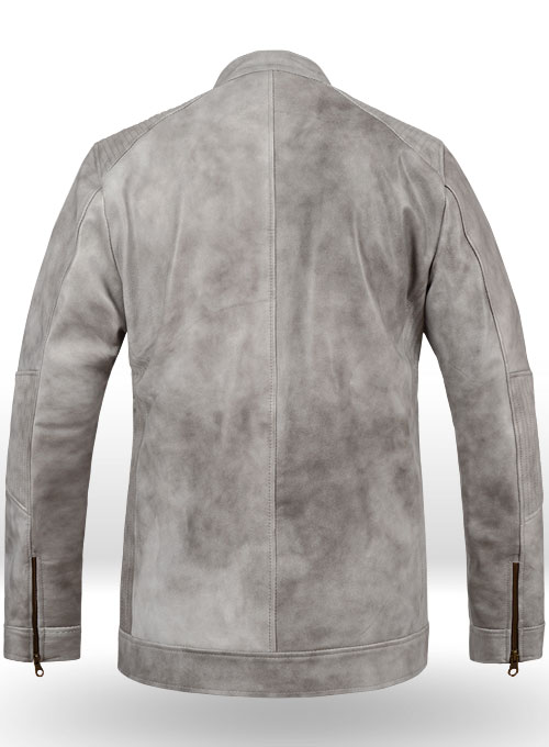 Harbor Gray Leather Jacket # 656 - Click Image to Close