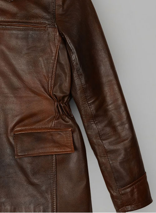 Katniss Hunger Games Leather Jacket