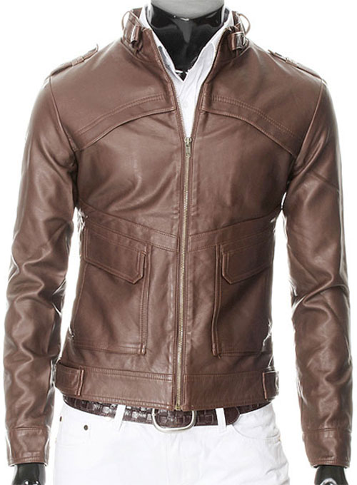Leather Jacket #602